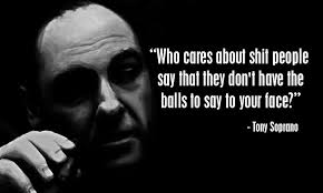 Sopranos Quotes Interesting Words Of Wisdom From Tony Soprano Quotes Pinterest Tony