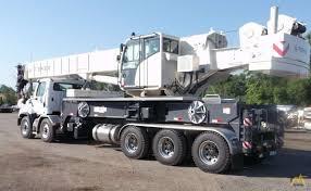 Terex Crossover 8000 80 Ton Boom Truck Crane For Sale