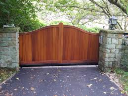 Stone Entry Gate Designs Exterior Inspiration Sightly Wooden Driveway Gates And