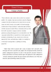 Corporate Trainer Profile Sample Magdalene Project Org
