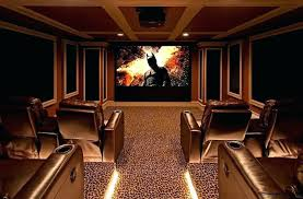 home theatre lighting design. Home Theater Lighting Ideas Design Theatre  View In Gallery Carpet Adds To The Appeal Of Jobs Home Theatre Lighting Design A