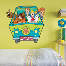 scooby doo wall decals acrylics a child and room decor