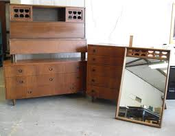 mid century bedroom set