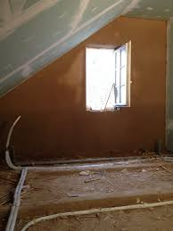 Lehmputz Auf Reetplatten Und Fensterlaibung Mit Seico System