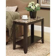 monarch accent table cappuccino