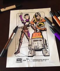 Small Picture Star Wars Rebels Review and Printable Kids Activities