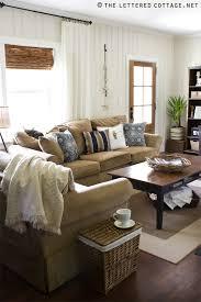 Lettered Cottage Living Room