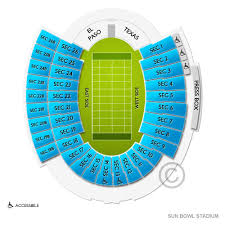 Sun Bowl Stadium Tickets