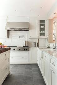 off white kitchen cabinets dark floors. Kitchen Floors With White Cabinets Creamy Paired Supreme And Company Slate . Off Dark H