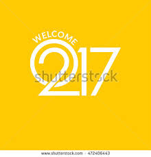 flyers numbers welcome 2017 creative numbers happy new stock vector 2018