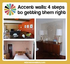 painting accent wallsAccent walls 4 steps to getting them right  Retro Renovation