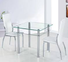 small glass dining table with metal table legs ideas home interior exterior
