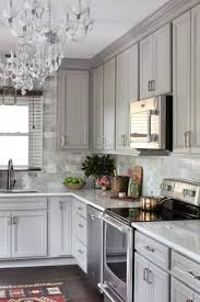 charming light gray kitchen cabinets and room makeover ideas best of the one room challenge diamond