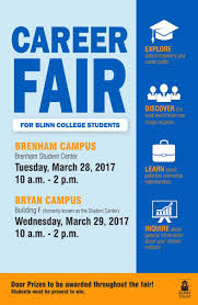 blinn college invites local businesses to career fairs in bryan pdf of 2017 career fair 11x17 flyer