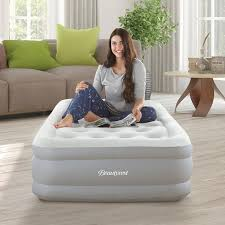 Beautyrest Sky Rise 14 in Twin Adjustable <b>Comfort</b> Coil Top <b>Raised</b> ...