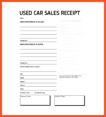 receipt template for car sale car sale receipt template nsw car sale receipt example used car