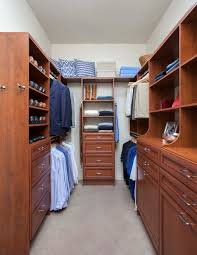 walk in closet design for women. Narrow Walk-In Closet In Warm Cognac Premier Walk Design For Women R