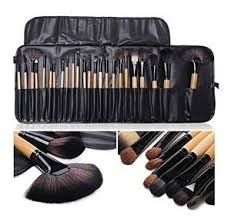 pro 24 pcs makeup brushes cosmetic tool eyeshadow powder brush set pouch bag in health beauty makeup makeup tools accessories brushes
