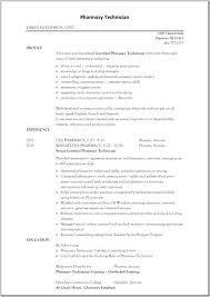 Pharmacy Technician Resume Objective Pharmacy Technician Resume Objective Sample Veterinary Technician 88