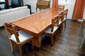 solid wood dining table. Simple Solid Wood Dining Table Natural Edge Slab | Furniture I Love