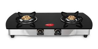 Pigeon Blackline 2 Burner Oval Blackline Oval Cooktop Gas Cooking