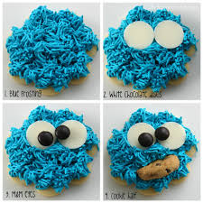 cookie monster quotes love.  Quotes I Used A Basic Flower Cookie Cutter You Could Easily Substitute Circle  Pipe The Blue Hair Buttercream Add White Chocolate And Mu0026M Eyes On Cookie Monster Quotes Love
