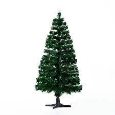 Pre-Lit LED Stars Artificial Rotating Christmas Tree with Stand - Walmart.com HomCom 7.5 ft.