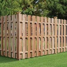 • cedar offers natural beauty, whether you choose to stain it or leave it natural. Wood Fencing Fencing The Home Depot