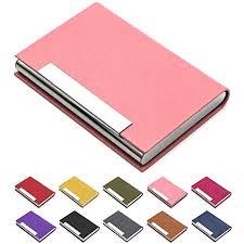 Business Card Holder, Business Card Case Luxury ... - Amazon.com
