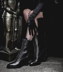 these mirabelle victorian mid calf leather boots in black rustic by oak tree farms are about to become the most versatile pieces in your wardrobe