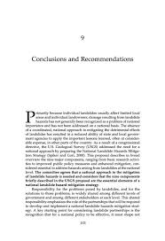 conclusions and recommendations partnerships for reducing  page 103
