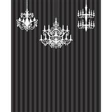 elegant chandeliers printed backdrop