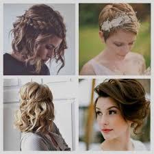 Image Coiffure Invitee Mariage Cheveux Court Coiffure