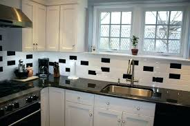 full size of gray subway tile backsplash with black granite and white kitchen home improvement magnificent