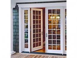 decorating patio door inspirations