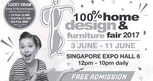 Small Picture 100 Home Design Furniture Fair 2017 at Singapore Expo from 3
