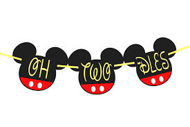 Mickey Mouse Clubhouse 2nd Birthday Invitations Oh Two Dles Oh Two Dles Birthday Oh Two Dles Birthday