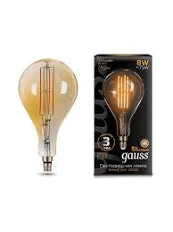 <b>Светодиодная</b> филаментная декоративная <b>лампочка LOFT</b> 8W ...