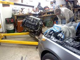 nb rebuild and timing assistance bmw forums click image for larger version 545i engine pull jpg views 2142 size