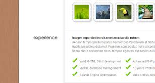my resume myresume wordpress theme