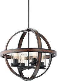 barrington 4 light orb pendant