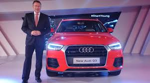 new car launches for 2015Audi Q3 2015 edition launched for Rs 2899 lakh with minor changes