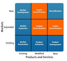 The Ansoff Matrix Strategy Skills Training From Mindtools Com