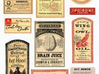 Apothecary Bottle Label Template Archives Acilmalumat