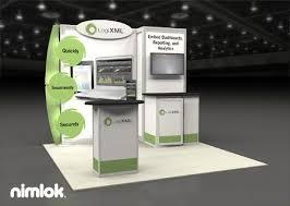 Trade Show Booth Design Ideas nimlok builds and designs trade show exhibits and displays for logixml we designed a custom