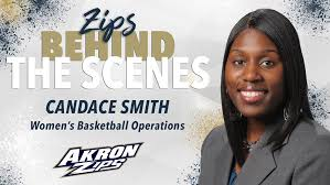 Behind the Scenes: Meet Candace Smith - University of Akron Athletics