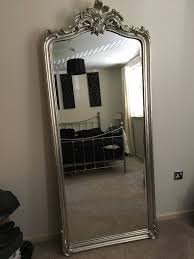 silver floor mirror. Contemporary Mirror Full Length Patricia Laura Ashley Silver Floor Mirror For Sale Inside  Mirrors  Inside