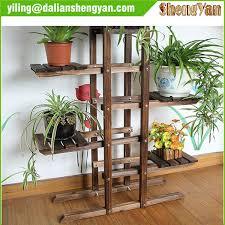 contemporary outdoor flower stand garden wood rack plant in wooden inspiration 16 wedding box decor