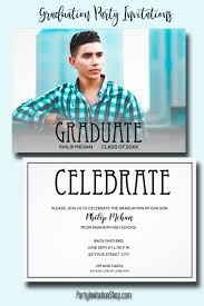 Photo Invitation Postcards Photo Graduation Invitation Postcards Party Invitation Shop