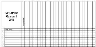 Teacher Grade Sheet Template Grade Sheet Template Teaching Resources Teachers Pay Teachers